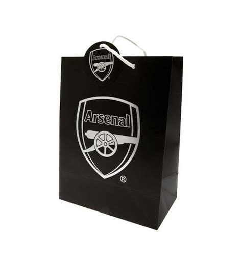 arsenal gift shop arsenal fc gift bag a bit of home canada