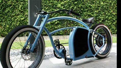 E Bike Cruiser by E Bike Enorm V2 Custom Cruiser Youtube