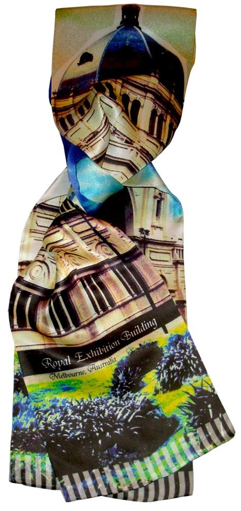 silk scarf melbourne royal exhibition building