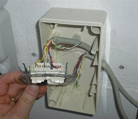 Wandle Mit Kabel Für Steckdose by Netzwerk 252 Ber Vorhandene Telefonkabel Line 21 Macht S