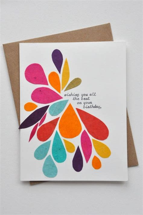Easy And Beautiful Handmade Birthday Cards - easy birthday cards http