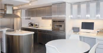 Unstained Kitchen Cabinets Check This Stainless Kitchen Cabinets 2016