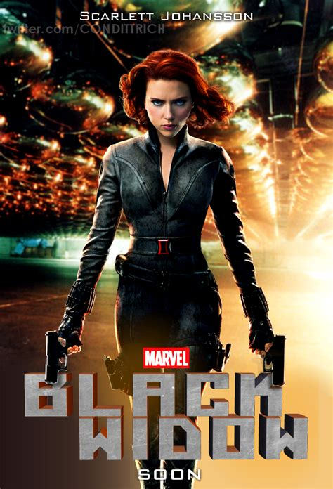 Black Widow Movie | black widow movie poster by condittrich on deviantart