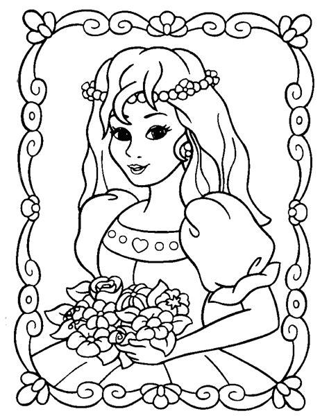 princess coloring pages for 3 year olds dibujos de princesas para colorear y pintar