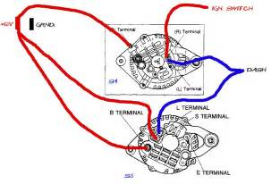 mazda b2000 alternator wiring diagram 1984 mazda b2000