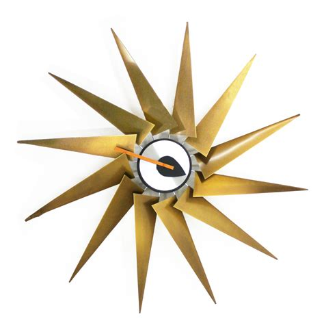Home Interiors Sconces nelson turbine clock by george nelson
