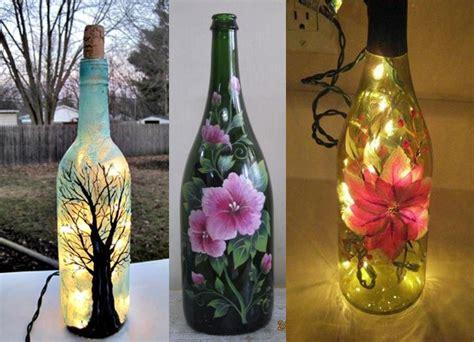 vasi decoupage decopuage su vasi e bottiglie di vetro
