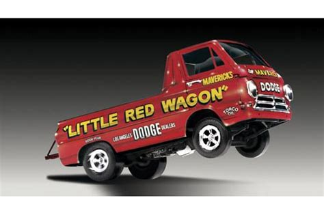 lnd dodge  red wagon