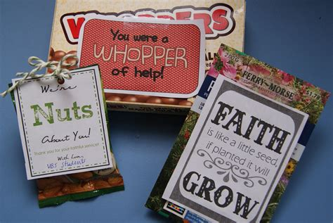 Sunday School Gifts - 3 volunteer recognition gifts for sunday school vbs