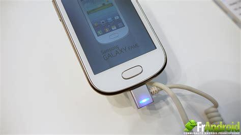 Smartphone Samsung Galaxy Fame prise en du samsung galaxy fame un mini smartphone pour un mini budget frandroid
