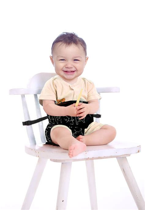 Toddler Chair With Straps by Smart N Comfy 3 In 1 Portable High Chair Travel High