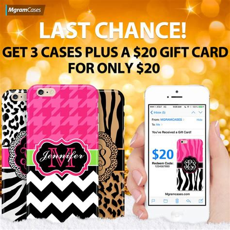 Mgramcases Gift Card - 17 best images about monogram case sale on pinterest forget you gift cards and