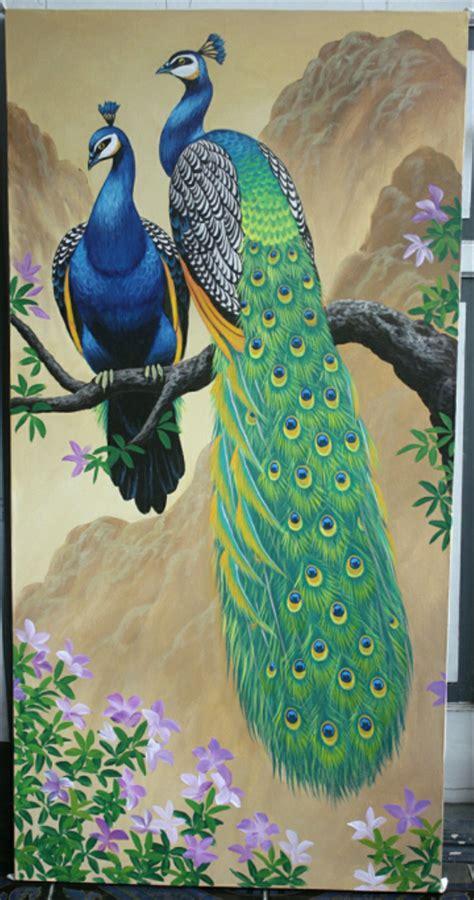 gallery  sketsa burung merak