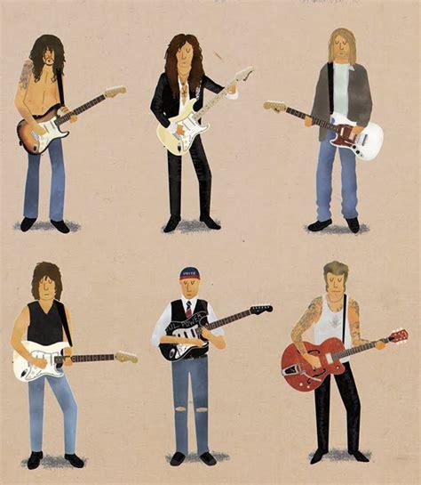 guitar lessons caricatures guitar lessons guitar  jimi hendrix