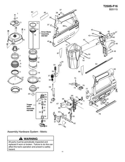 hitachi nail gun parts diagram genuine spare parts for all the brands from makita