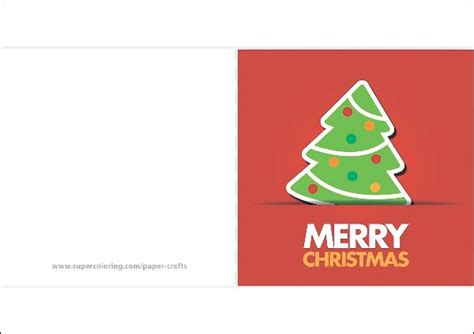 Paper Wishes Card Templates by Greeting Card With A Tree Template Free