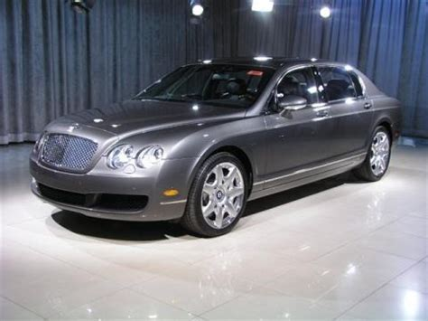 2008 bentley continental flying spur mulliner data info
