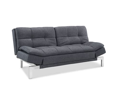 convertible sofa beds boca convertible sofa bed charcoal by lifestyle
