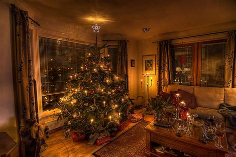 christmas home christmas tree at home weburbanist image gallery
