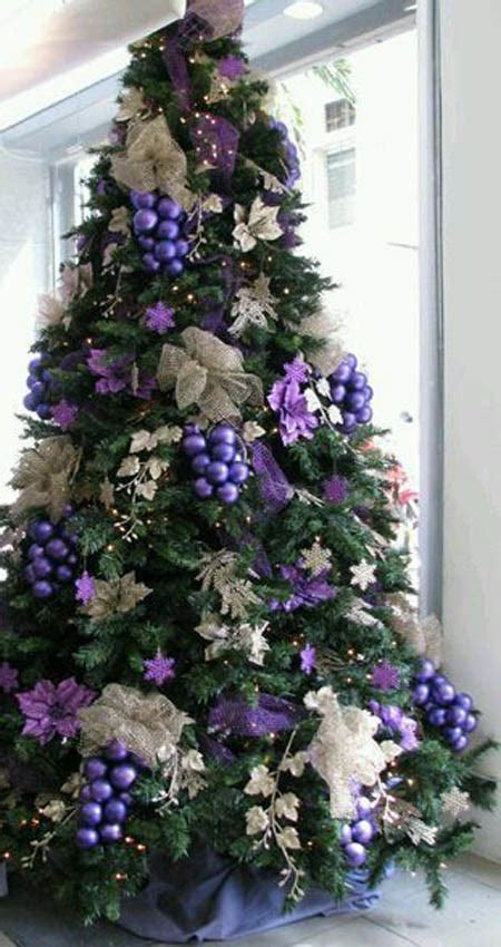 purple christmas tree top purple trees decorations celebration all about