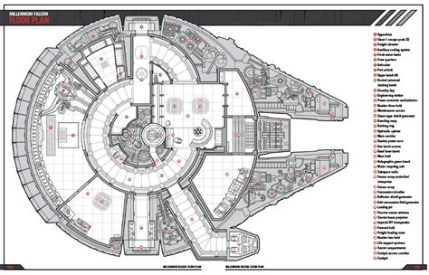 millenium falcon floor plan review haynes millennium falcon owners workshop manual