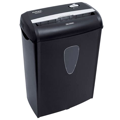Paper Shredder | amazon com aurora as890c 8 sheet cross cut paper credit