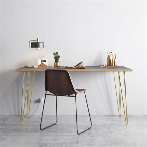 brass hairpin table legs copper hairpin legs