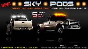Chevrolet Cab Lights Plasmaglow Led Sky Pods Cab Lights For Chevy Avalanche