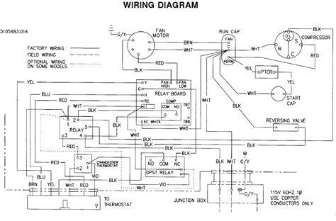 thermostat wiring diagram air conditioner circuit and