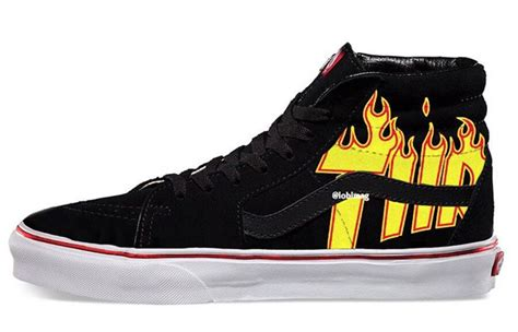Trhasher X Vans our look at the upcoming thrasher x vans collection kicksonfire