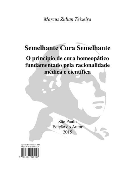 (PDF) Semelhante cura semelhante: o princípio de cura