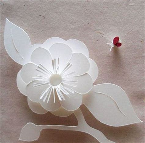 Pattern Kirigami Flower | 1000 images about kirigami patterns on pinterest dragon