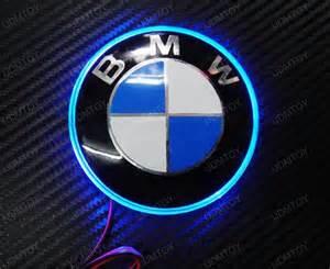 Bmw Emblems 1 82mm Ultra Blue Emblem Led Background Light For Bmw 1