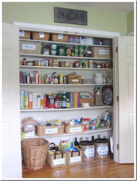 kitchen pantry closet organization ideas 40 cool diy ways to get your kitchen organized diy