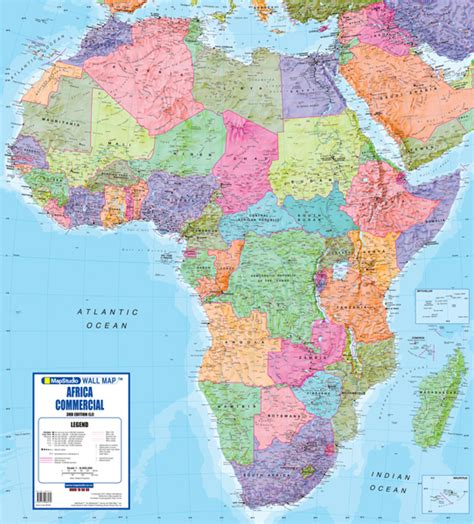 w x maps africa africa commercial wall map mapstudio