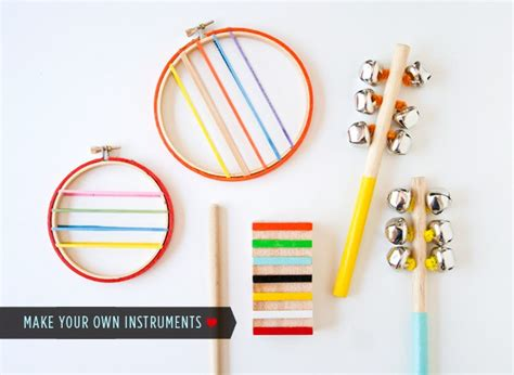 Musical Instruments Crafts For Kids - diy musical instrument crafts fun crafts kids