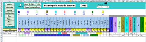 Calendrier Budget Excel Planning Cong 233 S Mod 232 Les Excel Gestion Finance