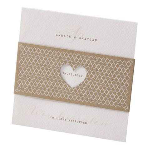 Hochzeitseinladung Zum Rausziehen by Einladungskarte Hochzeit Simply 725076