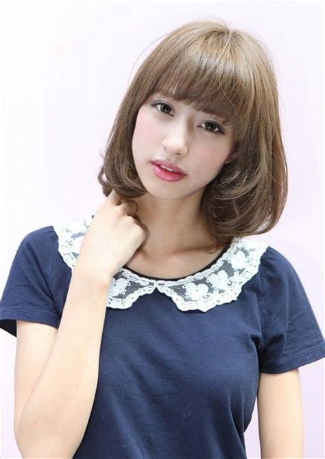 asian face hairstyle for lady short bob hairstyle for asian girls jpg 600 215 848 hair