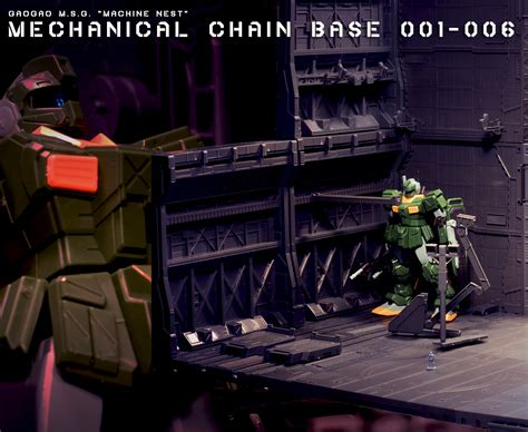 Mechanical Chain Base 001 review gaogao mechanical chain base 001 006 s hangar