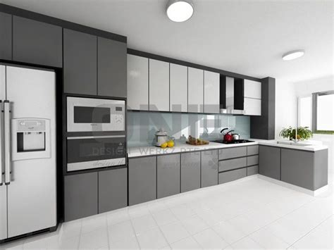 interior design of kitchen room hdb kitchen home decor grey design and