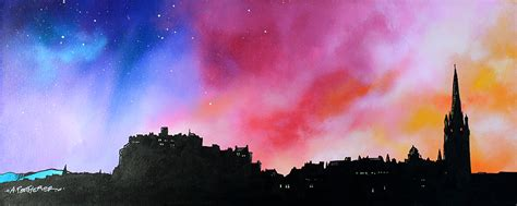 Paintings Prints Of Edinburgh Stirling The Lothians