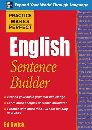 practice makes sentence builder second edition books grammar ebooks for free