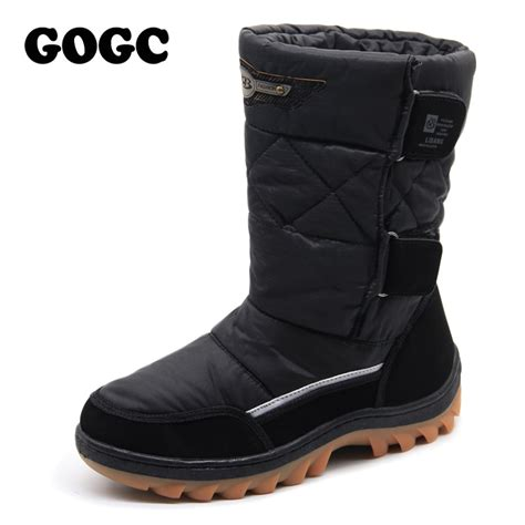 comfortable winter shoes aliexpress com buy gogc russian famous brand men s