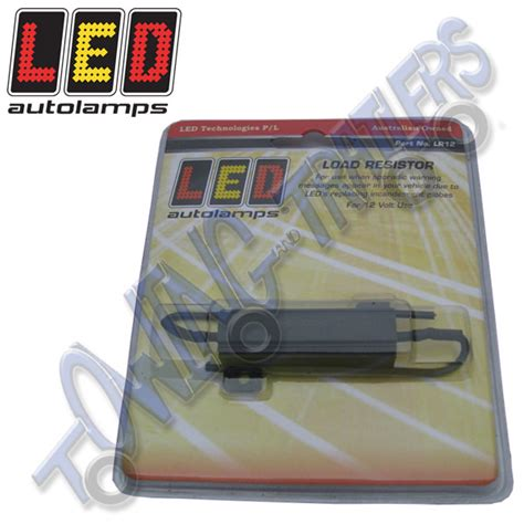 resistors for led trailer lights led autols lr12 load resistor for 12v led lights towing and trailers ltd