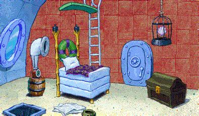 spongebob s living room spongebob s house
