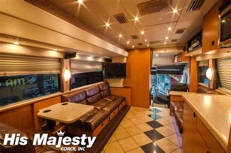 Sleeper Coach Rental by Sleeper Coaches Sleeper Rentals With His Majesty Coach