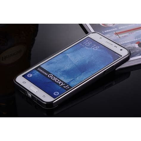 Bumper Mirror Samsung J7 aluminium bumper hardcase with mirror back cover for