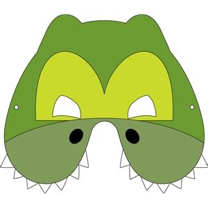 silhouette design store view design  crocodile mask