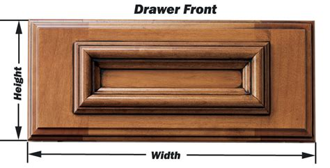 how to measure for cabinet doors and drawer fronts